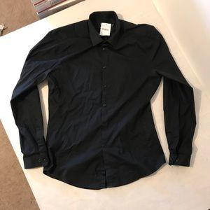 Topman muscle fit dress shirt